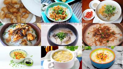 Top 35 món cháo thơm ngon và bổ dưỡng