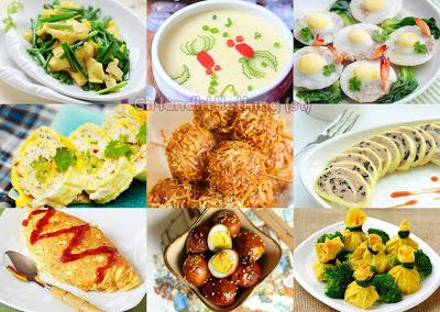 Top 37 món ăn dễ làm từ trứng tuyệt ngon