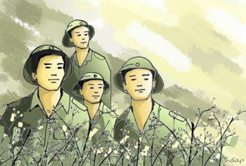 """dong vai nguoi linh trong bai dong chi - Top 6 bài văn đóng vai người lính trong bài thơ """"Đồng chí"""" kể lại câu chuyện lớp 9 mới nhất"""
