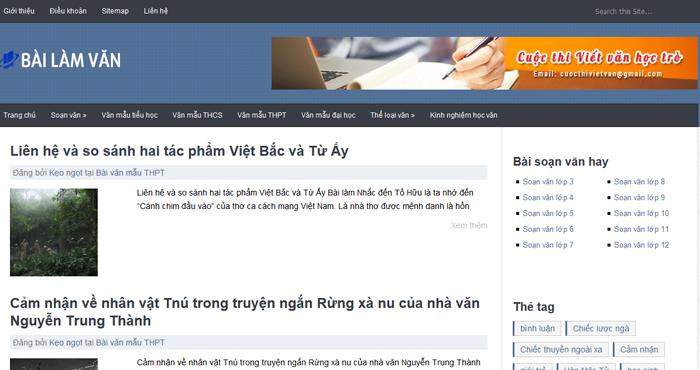 top 10 website hoc van lon nhat tren mang internet 4 - Top 10 website học văn lớn nhất trên mạng Internet