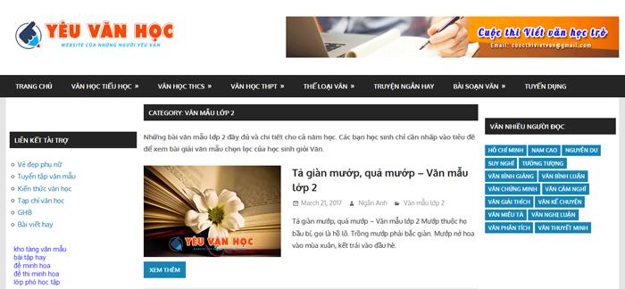 top 10 website nhung bai van mau hay lop 2 moi nhat 6 - Top 10 website những bài văn mẫu hay lớp 2 mới nhất