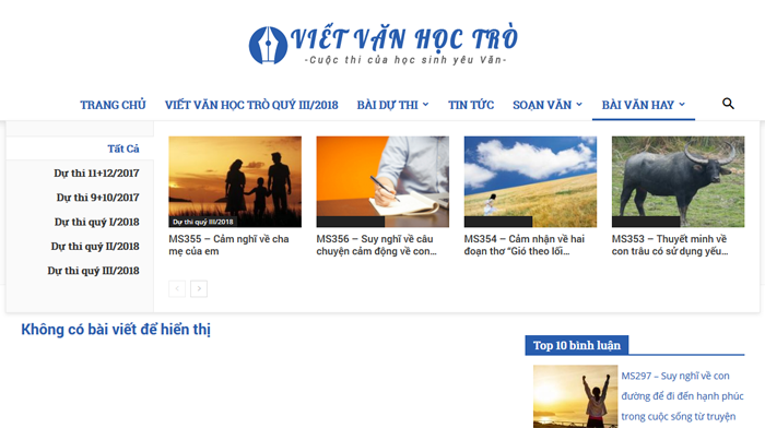 top 10 website nhung bai van mau hay lop 3 moi nhat 1 - Top 10 website những bài văn mẫu hay lớp 3 mới nhất