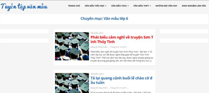 top 10 website nhung bai van mau hay lop 6 moi nhat 9 - Top 10 website những bài văn mẫu hay lớp 6 mới nhất