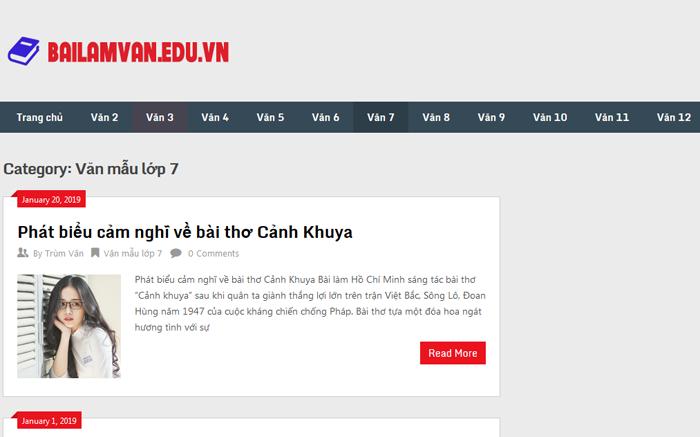 top 10 website nhung bai van mau hay lop 7 moi nhat 7 - Top 10 website những bài văn mẫu hay lớp 7 mới nhất