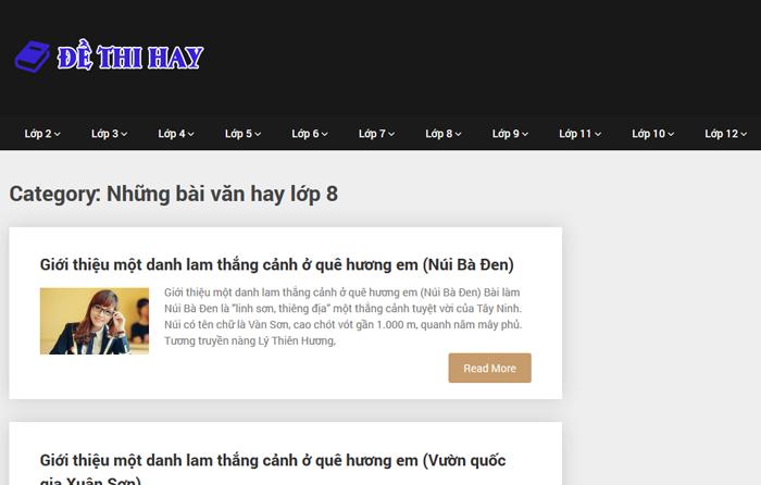 top 10 website nhung bai van mau hay lop 8 moi nhat 5 - Top 10 website những bài văn mẫu hay lớp 8 mới nhất